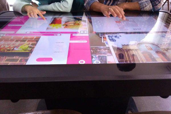 میز هوشمند رستوران