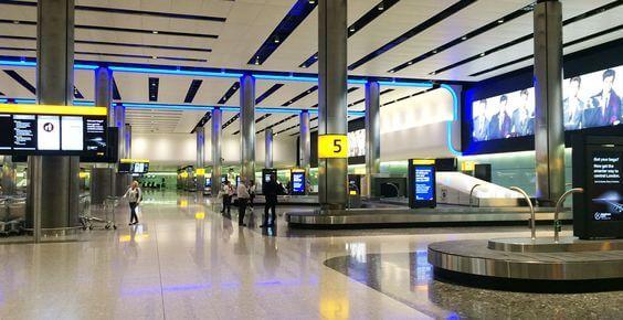 کیوسک لمسی راهنمای مسیر مناسب یرای ترمینال،فرودگاه و ایستگاه قطار