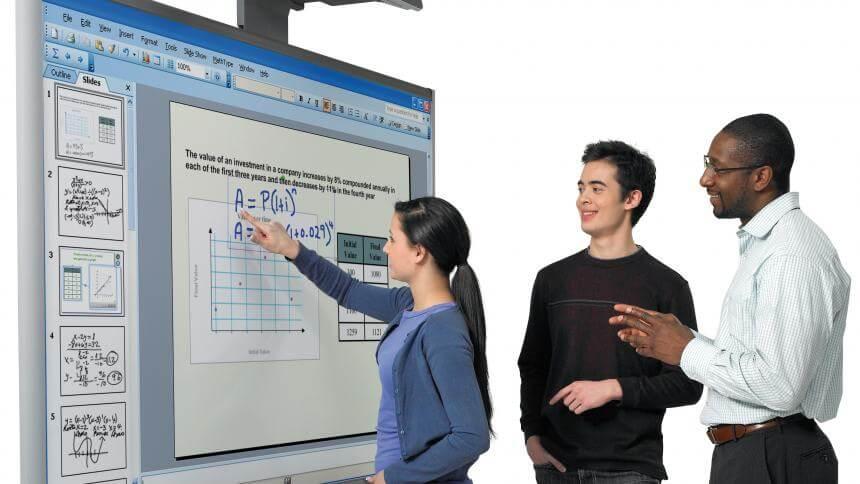 وایت بورد هوشمند در مراکز آموزشی